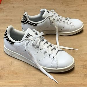ADIDAS STAN SMITH White Black Zebra Shoes B26590